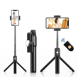 💥Vlog Must-have! 4 in 1 Portable Selfie Stick with Anti Shake Stabilizer & Tripod