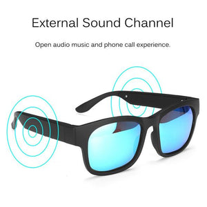 Listen to music and take calls with your sunglasses