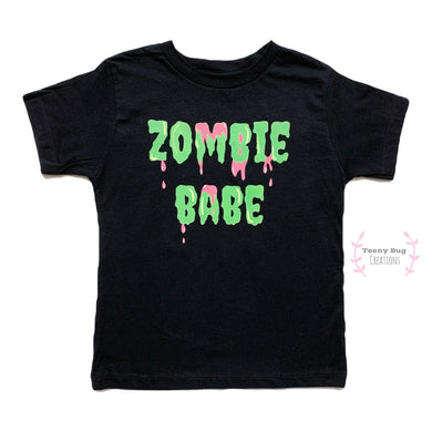 Zombie Babe Adult Tee