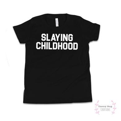 Slaying Childhood Kid Tee