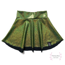 Load image into Gallery viewer, Olive Skater Skirt