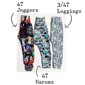 Back To School - Colored Pencil Leggings/Harem Pants/Joggers/Slim-Fit Leggings