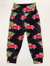 Load image into Gallery viewer, RTS Holiday Red Truck Joggers