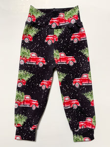 RTS Holiday Red Truck Joggers