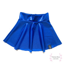 Load image into Gallery viewer, Midnight Blue Skater Skirt