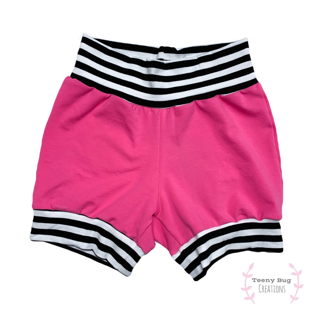 Hot Pink Bummies/Shorties/Harem Shorts