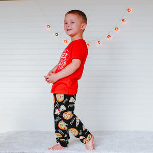 Pizza Love Leggings/Harem Pants/Joggers/Slim-Fit Leggings