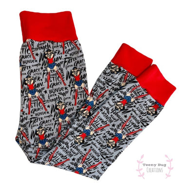 Wonder Woman Leggings/Harem Pants/Joggers/Slim-Fit Leggings