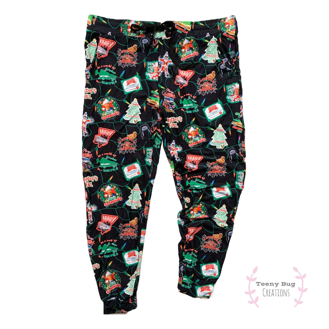ADULT Christmas Vacation Joggers