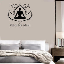 Load image into Gallery viewer, Wall Decal Stickers - Peace for Mind Yoga