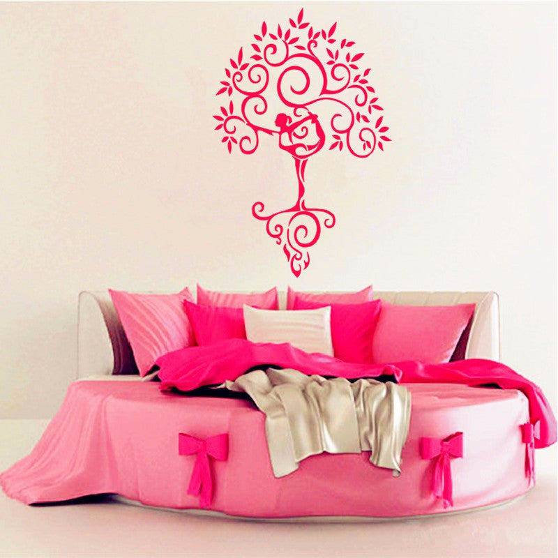 Wall Decal Stickers - Yoga Tree of Life