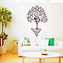 Load image into Gallery viewer, Wall Decal Stickers - Yoga Tree of Life