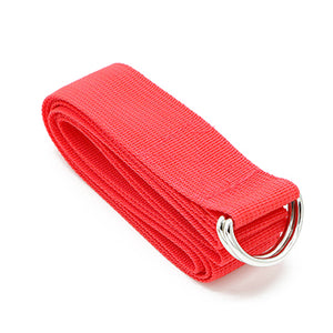 Yoga Stretch Strap D-Ring Belt