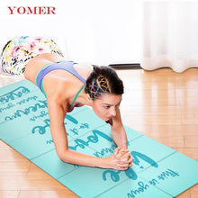 Load image into Gallery viewer, YOMER 5mm Non-slip Foldable Yoga Mats
