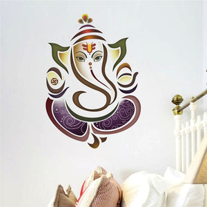 Wall Decal Stickers - Ganesh Elephant