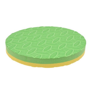 Round Foam Yoga Workout Knee Pad Cushion (Pack of 2)