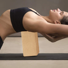 Load image into Gallery viewer, Combo Pack - SKL 2 Plus Strap Cork Yoga Block Bricks