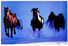 Load image into Gallery viewer, Moonlight Flight Lithograph - American Cowboy Art