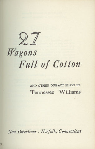 27 Wagons Full Of Cotton