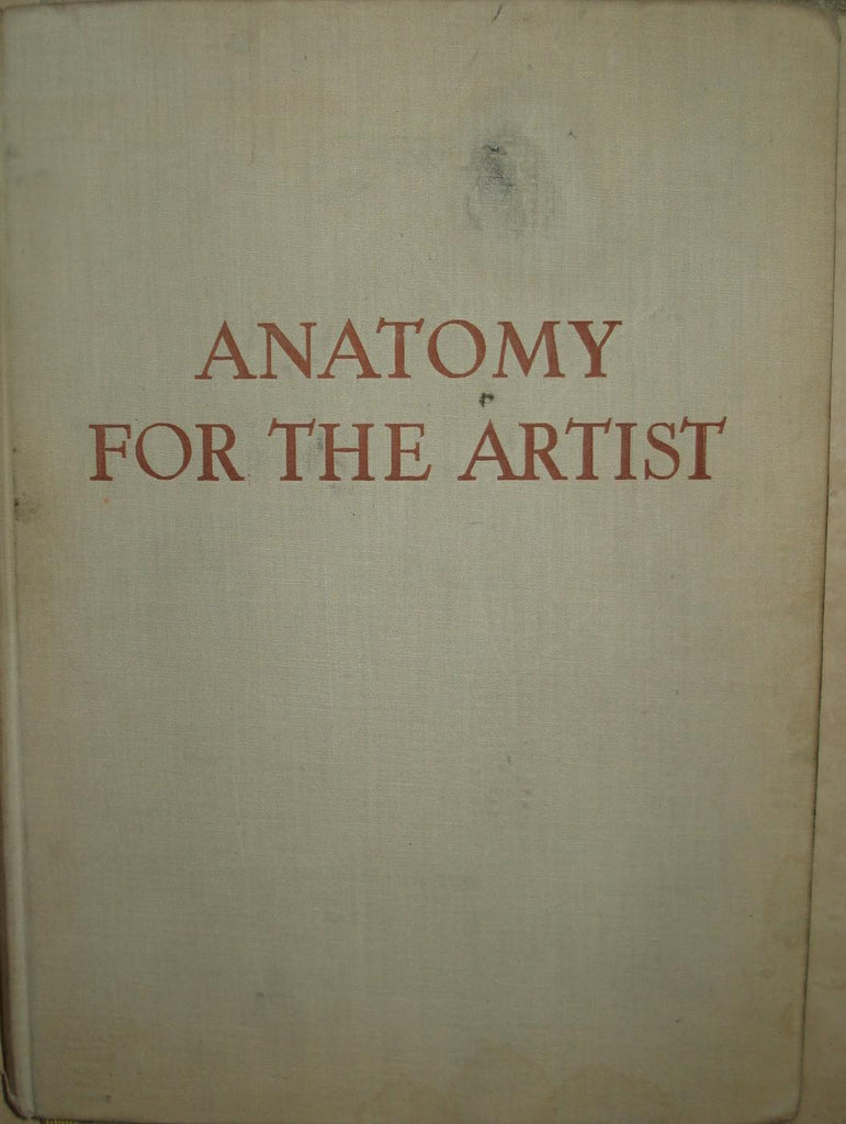 Anatomy For The Artist By Jeno Barcsay Rarelibrary