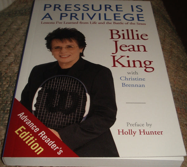 Pressure  Is  A  Privilege  Advance Readers Copy
