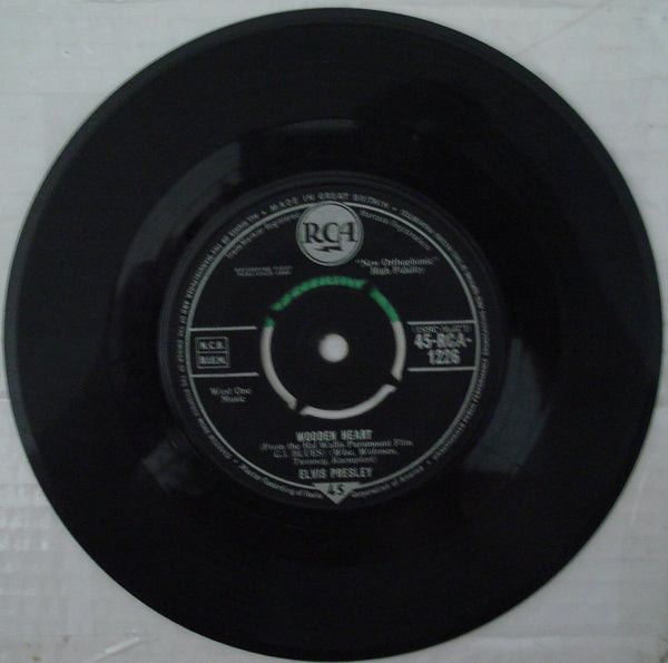 Tonight Is So Right For Love / Wooden Heart 45 Rpm Record