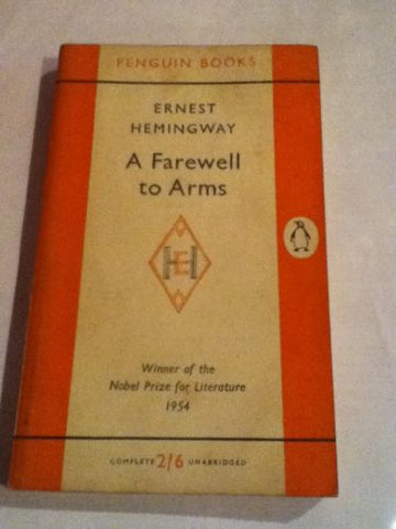 A Farewell To Arms : Scarce Early Uk Paperback