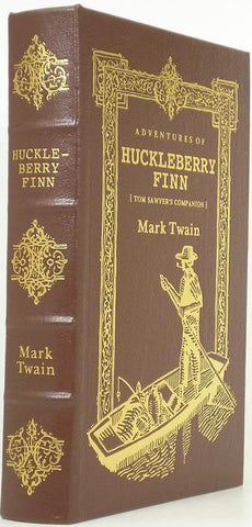 Adventures Of  Huckleberry Finn : Tom Sawyer?s Companion : Full Leather And Gold
