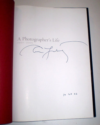 A Photographers Life 1990 - 2005 : Huge Edition Signed By Annie Leibovitz