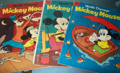 Walt Disney's Mickey Mouse And Donald Duck Comic Book Lot
