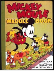 Mickey Mouse Waddle Book, The
