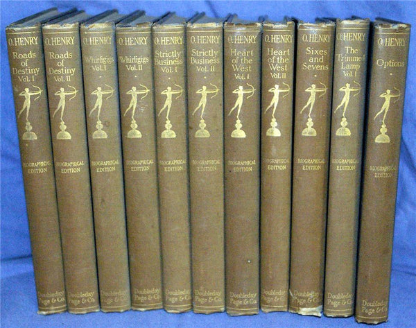 O. Henry Biographical Edition - 10 Volumes