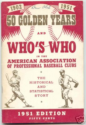 Who's Who In The American Baseball Association