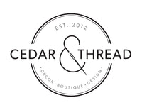 Cedar & Thread Logo