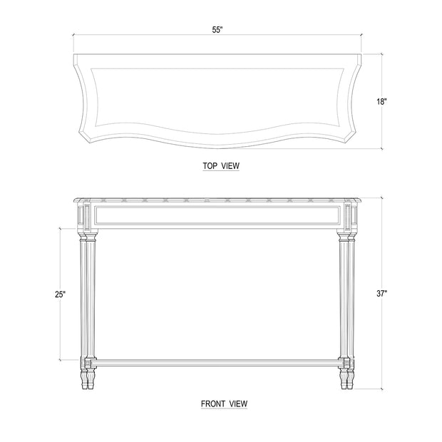 St James Console Table