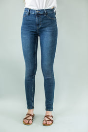 Free People Long and Lean Indigo Jean