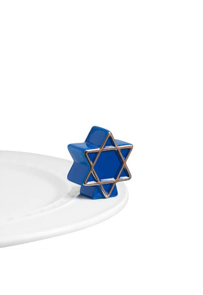 star of david (blue star)