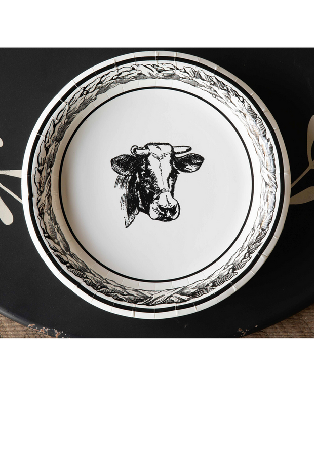 Dinner Plate - Cow