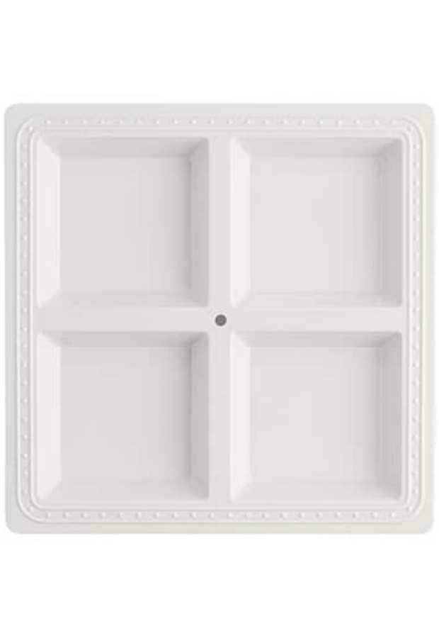 Square Sectioned Server - Melamine