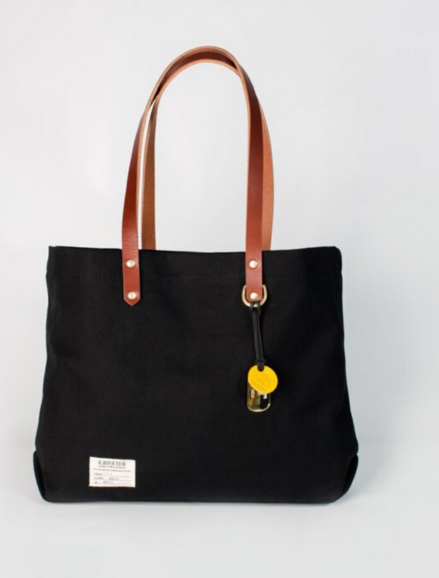R. Riveter Wilson Signature Leather Tote