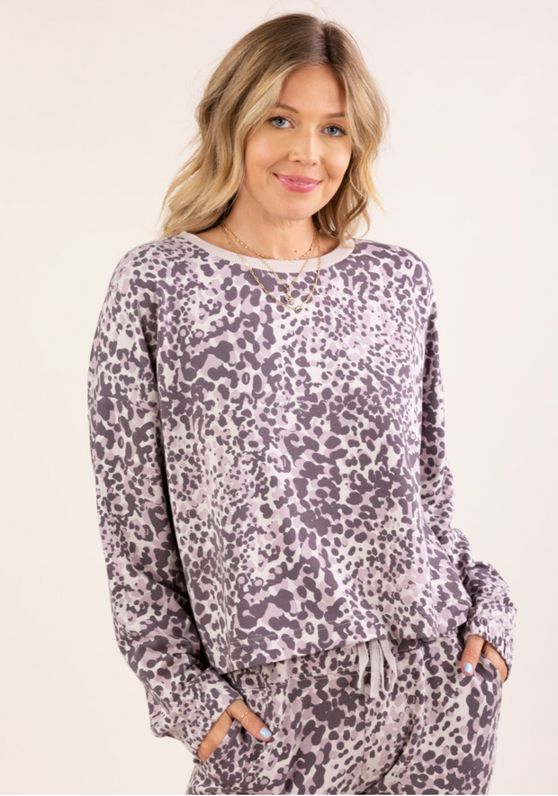 Leopard Pullover