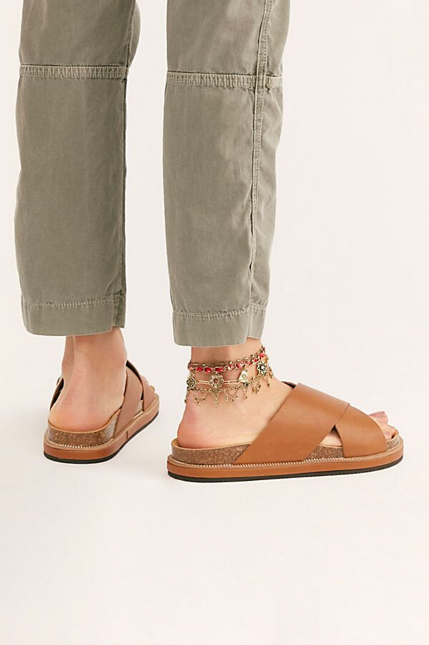 Free People Sidelines Footbed Sandal