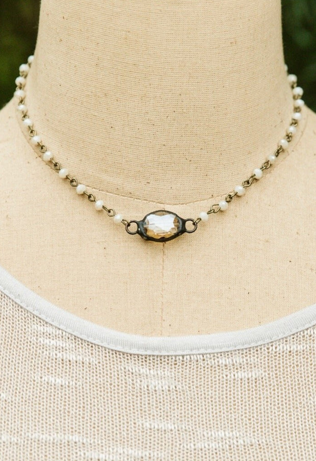 Crystal Ball IW Necklace