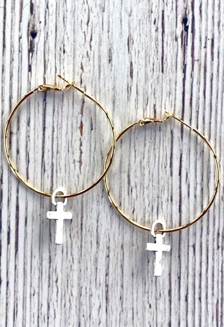 Flair Hoop Earring