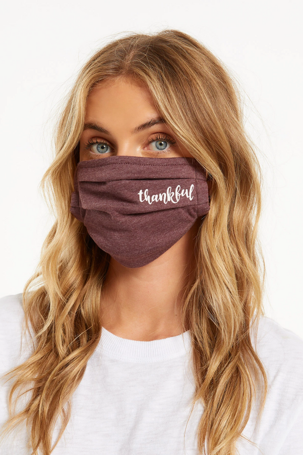Thankful Face Mask