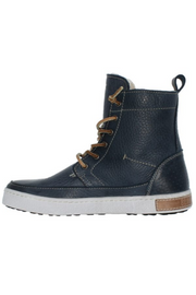Blackstone Indigo Lace-Up Boot