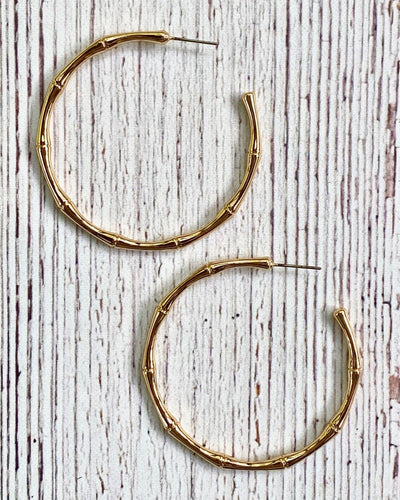 Branch Hoop Earring