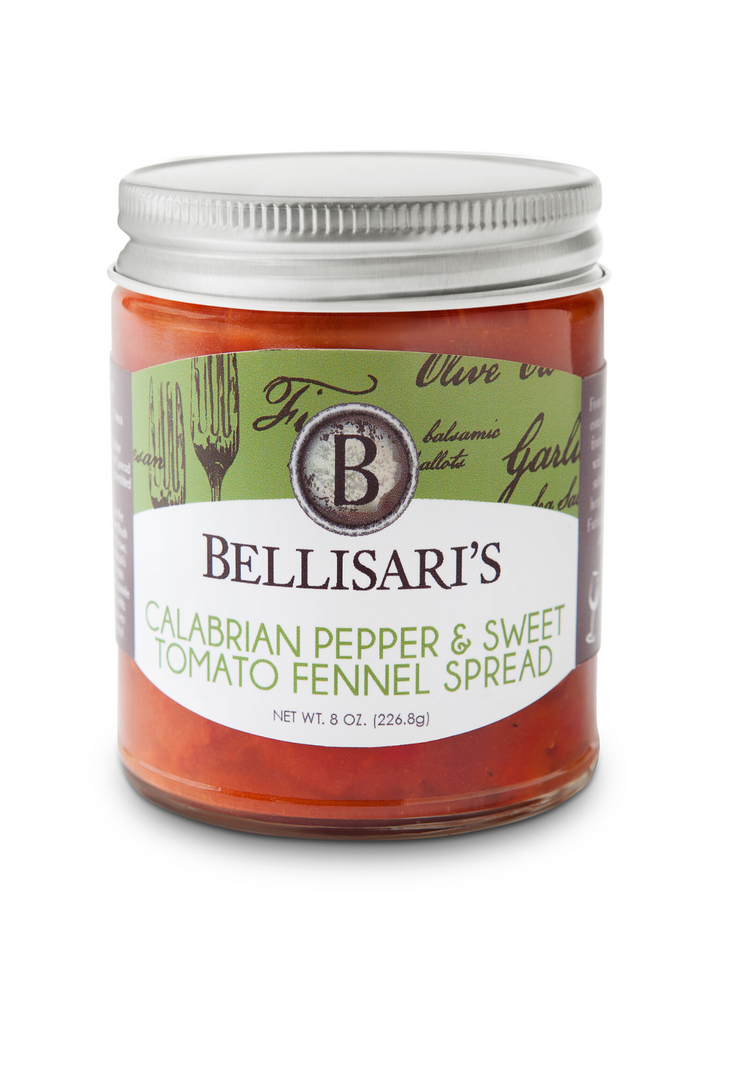 Bellisari's Calabrian Pepper & Sweet Tomato Fennel Spread