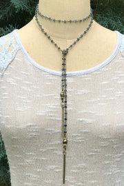 InspireDesigns Teamwork Lariat Necklace