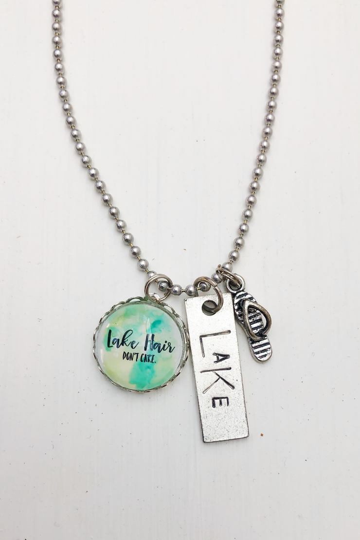 Lake Hair Don't Care Necklace